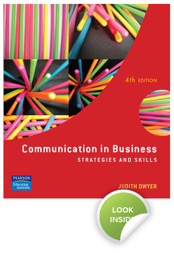 Communication in Business – Judith Dwyer